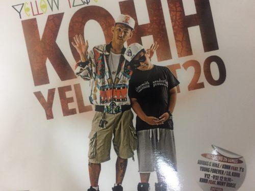 KOHHの1stアルバムYellow TAPEは新世代RAP